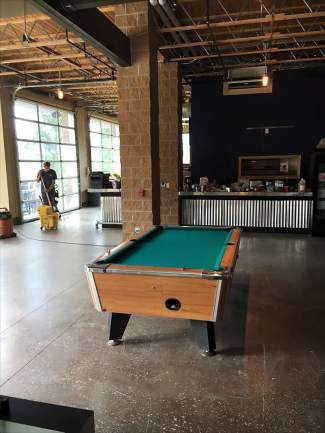 Hermits Brewing Co Doubles Space Capacity At New Location In - Old school pool table