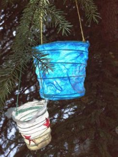 The Vail Public Library will host free community paper lantern making workshops on Dec. 15 and Dec. 22.
