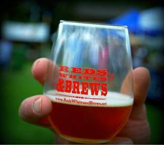 Red, White & Brews features nearly 30 American wineries and more than 20 American craft breweries.