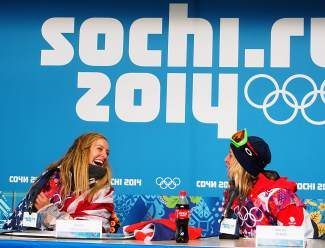 Jamie Anderson is the only snowboarder currently in Vail to win both gold in Sochi and top honors in semi finals at the Burton U.S. Open. Anderson and the slopestyle riders compete in finals today starting at 11:30 a.m.