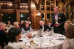Sean Razee, beverage director for Vail Resorts, educates a table at the SaddleRidge Four Course and Two Step event on Friday. The event was part of the Beaver Creek Winter Culinary Weekend.