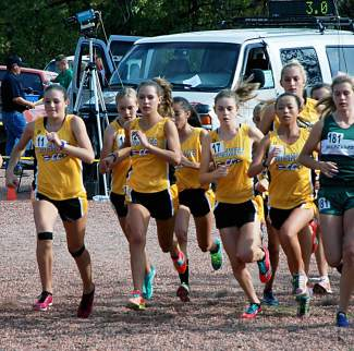 The Battle Mountain ladies burst from the start on Friday in Delta on their way to a four-peat.