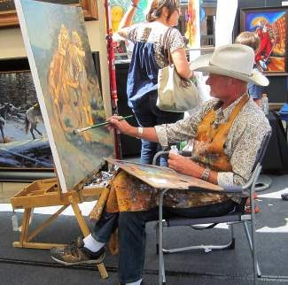 The Beaver Creek Arts Festival runs from 10 a.m. to 5 p.m. today.