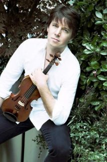 Violinist Joshua Bell returns to Vail to perform with The Philadelphia Orchestra at the Ford Amphitheater tonight.
