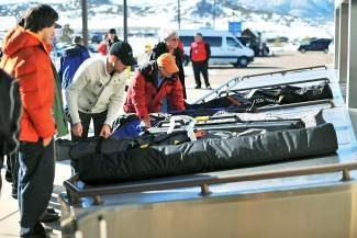 "Many of the Vail Valley's ""destination"" guests arrive at the Eagle County Regional Airport. But while lodging reservations are up somewhat this season, passenger numbers at the airport were down in January, due in large part to the big snowstorm at the end of the month."