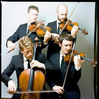 Strings and beer collide as he acclaimed Calder Quartet play at Crazy Mountain Brewery in Edwards as part of the Bravo! After Dark series.