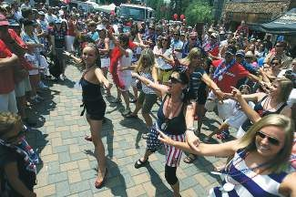 The Vail America Days parade begins at 10 a.m. Friday and winds its way from Golden Peak to Vail Village and finally through the Lionshead Mall.