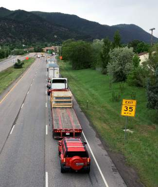 Motorists can expect heavier traffic and slower speeds through Glenwood Canyon over Labor Day weekend.