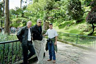Gray, right, and his Vietnam crew reunited years later.