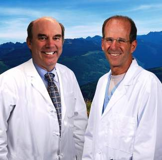 New cardiologists Dr. Nelson Prager (left) and Dr. Jerry Greenberg (right).