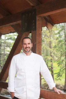 Chef Weston Schroeder will prepare wild salmon with ratatouille, corn broth and micro greens Thursday in Vail.