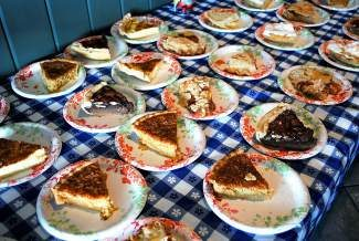 Along with homemade chicken noodle soup, Saturday's event in Eagle also includes a slice of homemade pie.