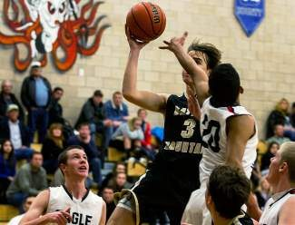 Upon further review, this is Battle Mountain's Owen Riley during Tuesday's thriller at Eagle Valley.