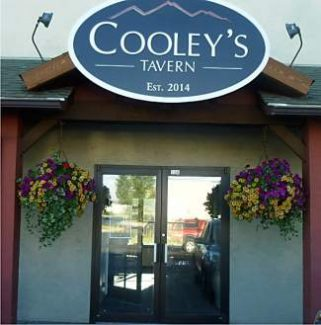 Gypsum's newest eatery, Cooley's Tavern, is located at the former Manto's space west of Bella's Market.