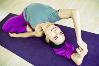 Front Range Yoga Instructor Teaching At Dogma Athletica In Edwards