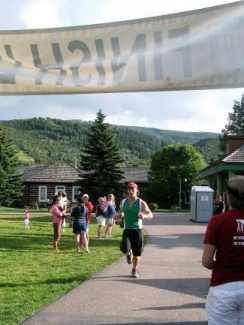 Avon's Dunk-N-Dash series includes a 5K run, which starts and finishes at the Lake's pump-house.