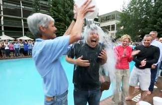 Vail Resorts CEO Rob Katz accepted the ALS Ice Bucket Challenge along with the entire executive committee and a total of 250 Vail Resorts employees Tuesday afternoon in Keystone, where they were attending the Vail Resorts Leadership Summit. In addition to accepting the challenge, Katz will be donating $100 per person to ALS for participating. To see the video, go to vaildaily.com