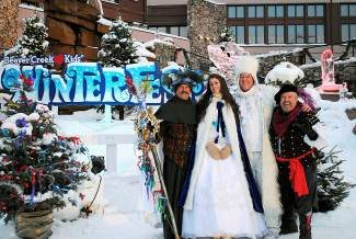 Beaver Creek is home to Winterfest again during the holiday season. KICKER: Beaver Creek Winterfest