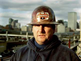 """Documentary film """"The Greening of Southie"""" introduces viewers to Bob Gottlich, a Boston-area ironworker who, to his surprise, enjoyed the idea of working on a """"recycled building."""""""