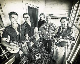 The five members of Floodwood visit Agave in Avon Thursday for the first time.