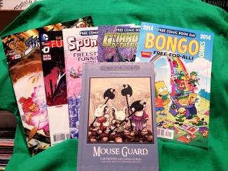 Free Comic Book Day is a single day, the first Saturday in May each year, when participating comic book shops across North America giveaway comics. Again this year, Eagle Valley Music and Comics in Minturn is the only store nearby that's participating.