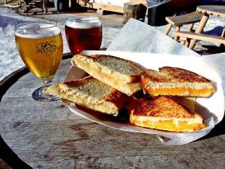 Enjoy all-you-can-eat grilled cheese sandwiches and beer pairings at Crazy Mountain Brewery in Edwards Friday night. Tickets for the event are $25.