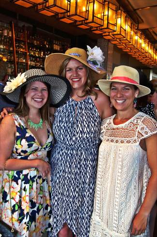 Attendees sport their Kentucky Derby finest at the Vail Derby Party, a fundraiser for Children's Garden of Learning.
