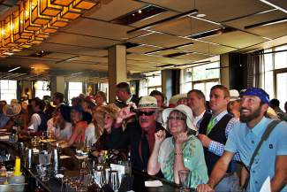 """The 142nd """"Run for the Roses"""" at the Kentucky Derby was aired at Maya Restaurant during the Vail Derby Party to support Children's Garden of Learning."""