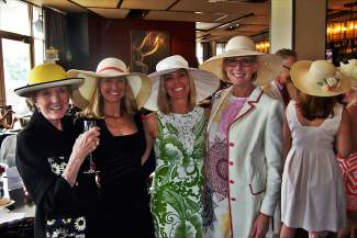 Patricia Lynch, Shelly Shanley, Carmel McGuckin and Megan Green represented well for the Lynch family, who were generous sponsors of the fourth-annual Vail Derby Party at the Westin Riverfront Resort & Spa.