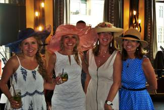 Congratulations went out to the fourth-annual Vail Derby Party event planning team, including Kara Robinson, Danielle Siess, Chairwoman Sandra Lynch and Kathy Brendza.
