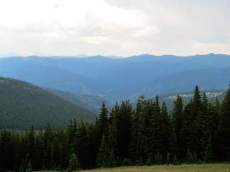 The No Name area south of Minturn offers views of the Gore Range. A hike scheduled for Saturday will explore the area