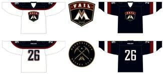 The Vail Mountaineers Hockey Club has unveiled its new uniforms for 2014-15, and registration for the upcoming season is open.