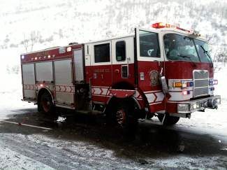 The damage may not look that bad, but this Vail fire truck will cost thousands to repair after it was hit by a motorist on Vail Pass Sunday. So far this winter, five vehicles from local emergency agencies have been struck on Interstate 70. Several state snowplows have also been struck on I-70 this winter.