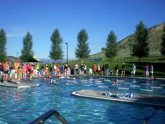 The LG Sprint Tri will begin at 7 a.m. July 12 in the parking lot of the Eagle Pool and Ice Rink.