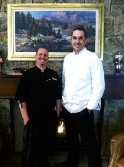 From the left Chef De Cusine Eric Berggren and Executive Chef Weston Schroeder.