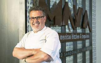 Chef Richard Sandoval of Maya will pair help create a special four-course Mexican menu for the special tequila dinner the restaurant is hosting Friday.