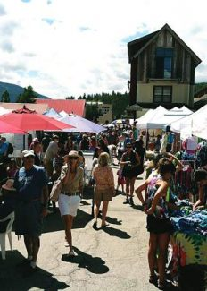 Along with produce vendors, the Minturn Market has a hodgepodge of nearly 100 tents filled with artwork, crafts, clothing, jewelry and more.