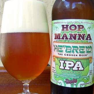 Hop Manna IPA is one of six beers from Schmaltz Brewing Company being served Friday only at Mountain Standard in Vail.