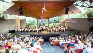 The Cirque de la Symphonie with the Philadelphia Orchestra was one of hte highlights of the Bravo! Vail's 2013 season.