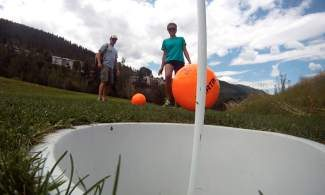 In a throwback episode to 2014, Vail Daily On the Hill host Ross Leonhart takes on the new sport of foot golf at the Eagle-Vail Golf Club's Willow Creek Par 3 Course.