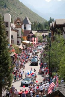 Vail Fourth of July Parade 2012.