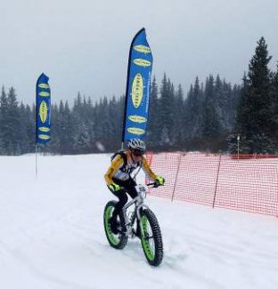 Get your fat tires out — this weekend's Pedal Power Winter Series brings snow bike racing to the Nordic Center at Tennessee Pass.
