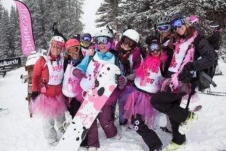 Pink Vail, the world's largest ski day to conquer cancer, will return to Vail Mountain on April 5 of next year.