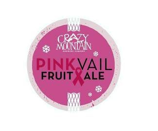 Pink Vail's signature Fruit Ale is brewed by Crazy Mountain Brewing Company in Edwards.