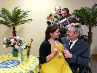 """The Porchlight Players will present a special Valentine's Day dinner theater production of """"Dirty Rotten Scoundrels"""" for the next two weekends. Tickets are available at www.porchlightplayers.org."""