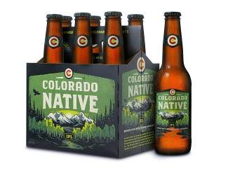 The dry-hopped Colorado Native IPL has a clean, dry finish made with a combination of Colorado-grown Chinook, Centennial, Cascade, Nugget and Crystal hops and Moravian two-row pale and Moravian two-row Munich malts.