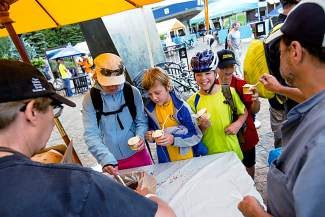 Celebrate the USA Pro Challenge with free ice cream and a movie in Vail this evening.