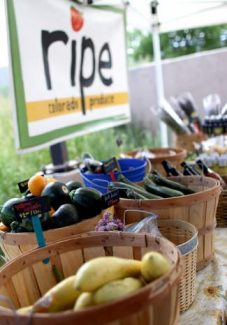 The owners of Ripe, a permanent farm stand in Edwards, sell produce from small farms located between Edwards and Palisade. Ripe will source many of the ingredients at the VailPOP dinner on Oct. 6.