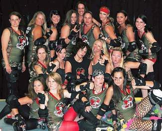 The 10th Mountain Roller Girls are hosting a meet and greet today at 6:45 p.m. at the Eagle Ice Rink and Pool. Don't worry — they're much friendlier in person.