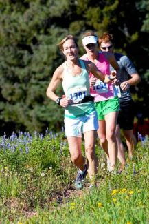 Sunday's Vail Half Marathon takes runners from Golden Peak to the top of the top of Vail Mountain and then down to Eagle's Nest.